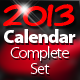 Calendar 2013 Complete Set - GraphicRiver Item for Sale