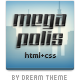 Megapolis HTML+PSD - ThemeForest Item for Sale