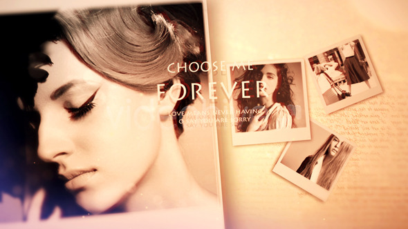 VideoHive Memories photo and fashion Opener 3614292