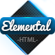 Elemental - Uniquely Designed HTML Template  - ThemeForest Item for Sale