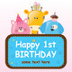Child Birthday Postcard - GraphicRiver Item for Sale
