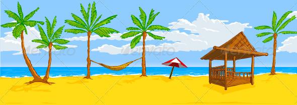 Stock Vector - GraphicRiver Beach 3683290 » Dondrup.com