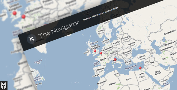WordPress – The Navigator: Premium WP Location Guide + Blog | ThemeForest