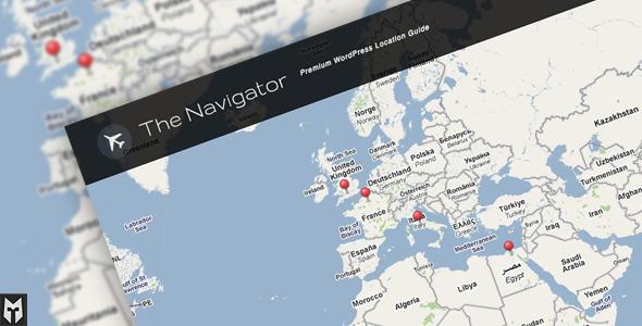 WordPress – The Navigator: Premium WP Location Guide + Blog   ThemeForest