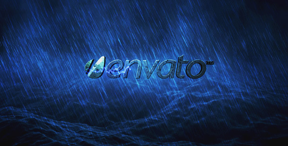 VideoHive Logo Intro Ocean Storm 1401302