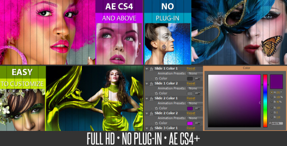 VideoHive Colors Slide Show 3701254