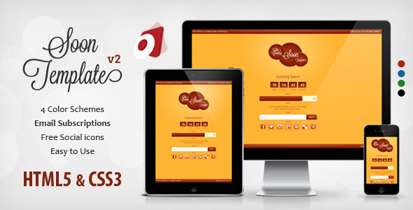 free responsive zen cart templates - gila responsive coming soon template by otallu themeforest