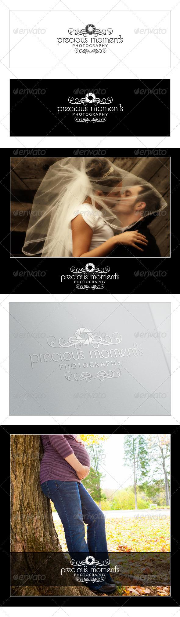 GraphicRiver Precious Moments Photography Logo 3672015