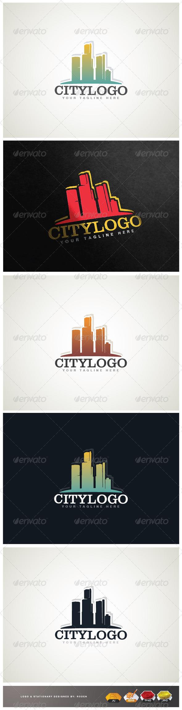 GraphicRiver City Logo 3661208