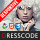 Dresscode - Responsive  osCommerce Theme - ThemeForest Item for Sale