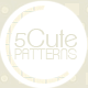 5 Cute Patterns - GraphicRiver Item for Sale