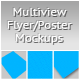 Multiview Flyer/Poster Mockups - GraphicRiver Item for Sale