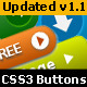 CSS3 Premium Button Pack - CodeCanyon Item for Sale