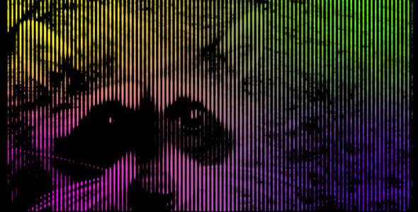After Effects Project - VideoHive Halftone Lines 91258