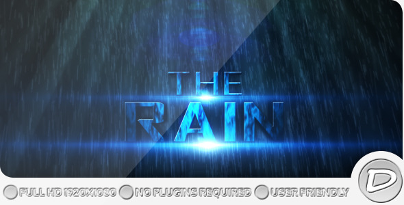 After Effects Project - VideoHive The Rain Project 246084