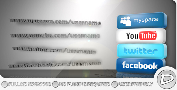 After Effects Project - VideoHive Get Social 372200