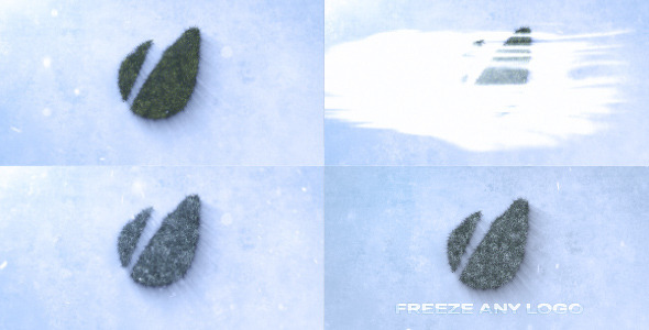VideoHive Grass Logo Freeze Logo Sting 3685913