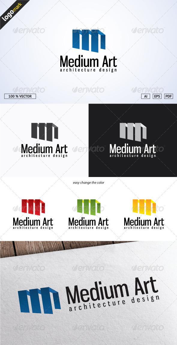 GraphicRiver Medium Art Logo 3689016