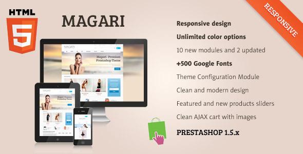 magari-responsive-prestashop-theme