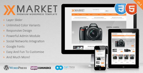 xmarket-responsive-wordpress-ecommerce-theme