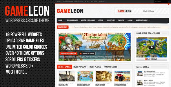gameleon-wordpress-arcade-theme