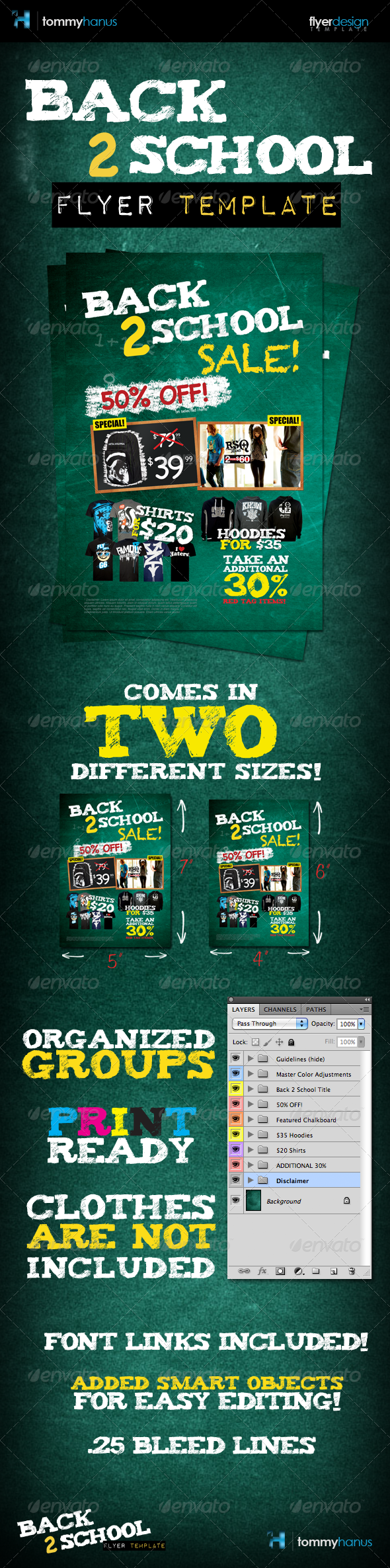 GraphicRiver Back 2 School Flyer Template 403772