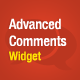Advanced Comments Widget - CodeCanyon Item for Sale