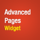 Advanced Pages Widget - WordPress Premium Plugin - CodeCanyon Item for Sale