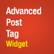 Advanced Post Tags Widget - WordPress Plugin - CodeCanyon Item for Sale