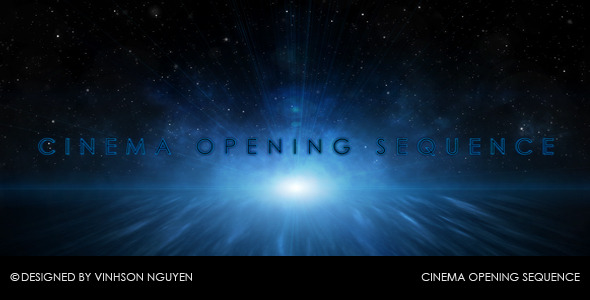 After Effects Project - VideoHive Cinema Opening Sequence 85779