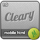 Cleary - Multipurpose Liquid Mobile Template - ThemeForest Item for Sale