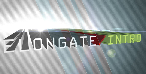 After Effects Project - VideoHive Elongate Intro 406591