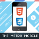 The Metro Mobile Retina | HTML5 & CSS3 And iWebApp - ThemeForest Item for Sale