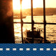 Sea And Silhouette With Window - VideoHive Item for Sale