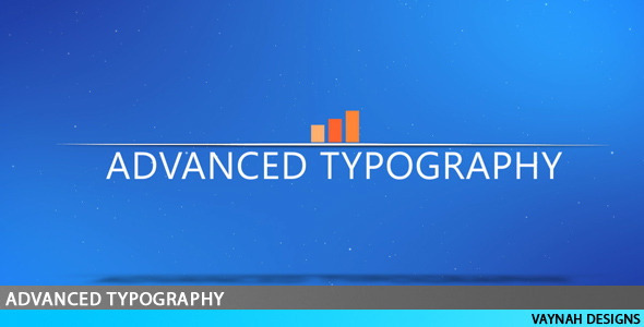 After Effects Project - VideoHive Advanced Typography HD 218478