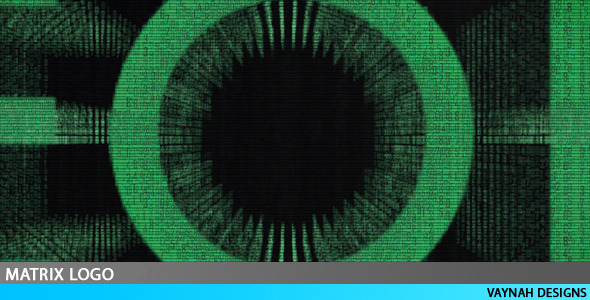 After Effects Project - VideoHive Matrix Logo HD 128388
