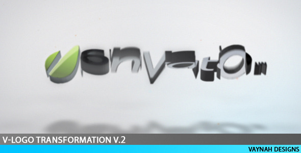 After Effects Project - VideoHive V-Logo Transformation V.2 HD 111339