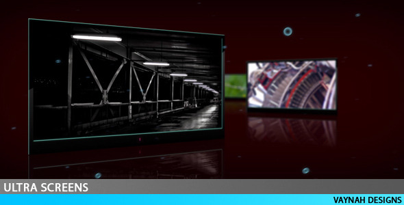 After Effects Project - VideoHive Ultra Screens HD 88472