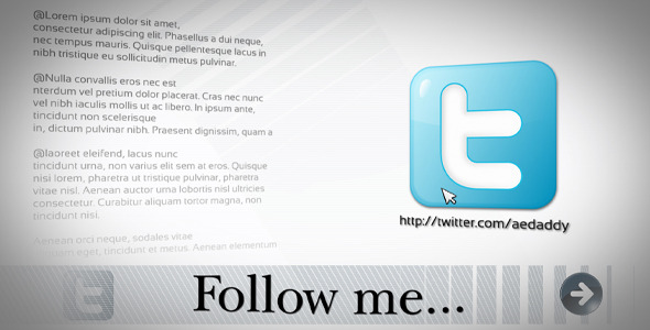 After Effects Project - VideoHive Social Profile 407281