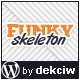 Funky Skeleton - responsive WordPress theme - ThemeForest Item for Sale