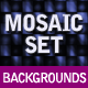 Mosaic Background Set - GraphicRiver Item for Sale