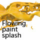 Slow motion paint splash with alpha channel - VideoHive Item for Sale