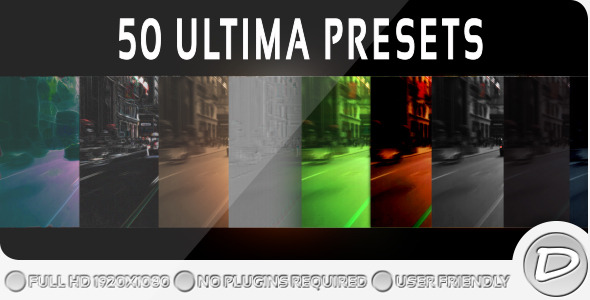 After Effects Project - VideoHive 50 Ultima Presets 410383