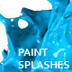 Variety of Isolated 3D Paint Splashes 3 - GraphicRiver Item for Sale