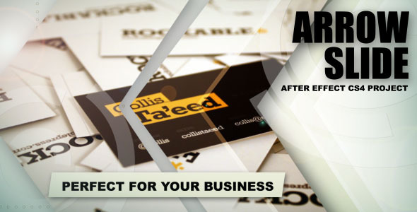 After Effects Project - VideoHive Arrow Slide 410568