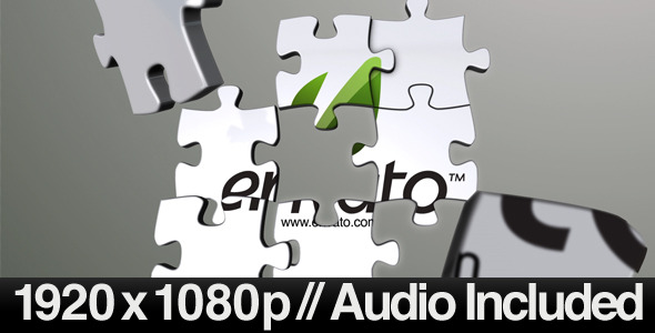 After Effects Project - VideoHive 3D Jigsaw Puzzle Revealer 410700