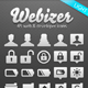 Webizer Vector Icons - GraphicRiver Item for Sale