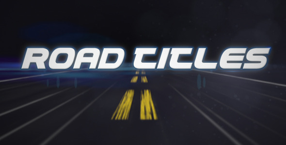 After Effects Project - VideoHive Road Titles 410981