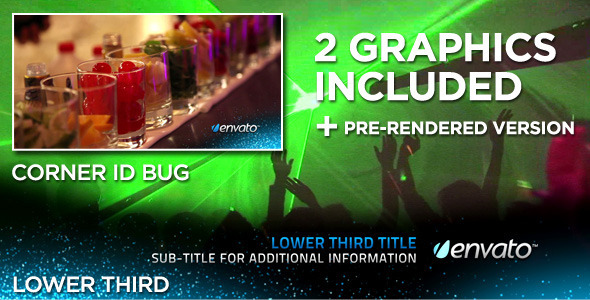 After Effects Project - VideoHive Particular Lower Third 409875