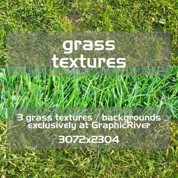 GraphicRiver Grass Textures 411229